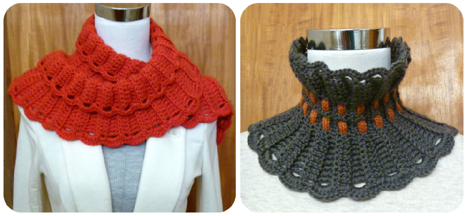 The New Crochet Cowl Scarves Adapting A Scarf Pattern Into A Cowl