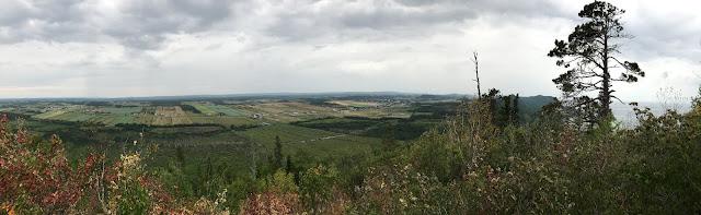 Vue du Pic Champlain Québec