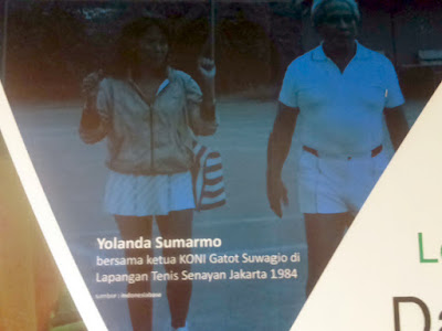 Legenda Tennis Indonesia - Yolanda Sumarmo