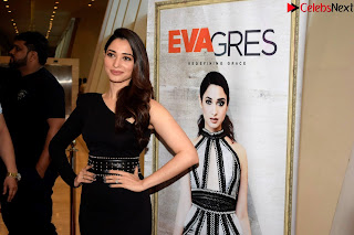 Beautiful Milky white Tamanna Bhatia in Black dress at Qutone New nd Launch ~ .xyz Exclusive 007.jpg