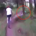 WATCH: These Two Bikers Get An Unexpected Surprise While Coming Down Path!