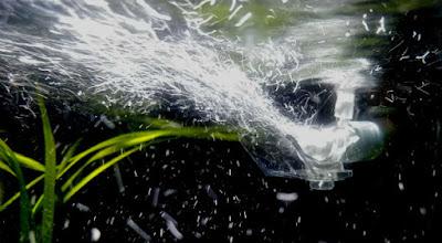 バブルチョイス+水流分散板上向き