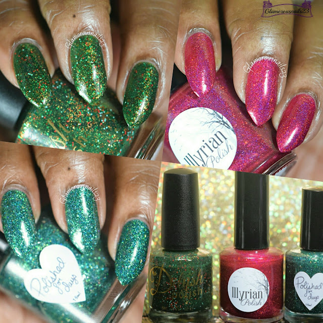 "For The Love Of Polish December 2015 ""Tis The Season"" Box"