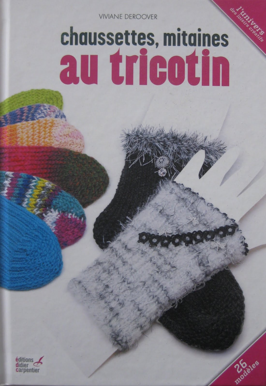 Chaussettes Mitaines  au  Tricotin