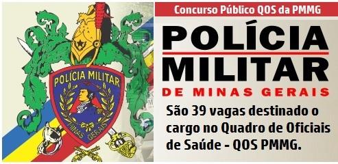 Concurso Polícia Militar-MG - QOS PMMG