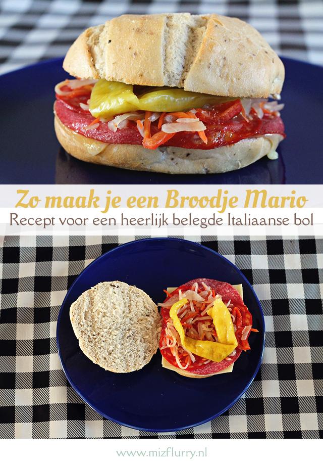 broodje Mario Italiaanse bol Utrecht