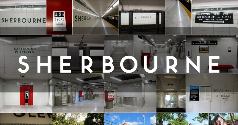 Sherbourne station photo gallery