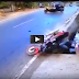 Horrible Bike accident Caught on Camera in India