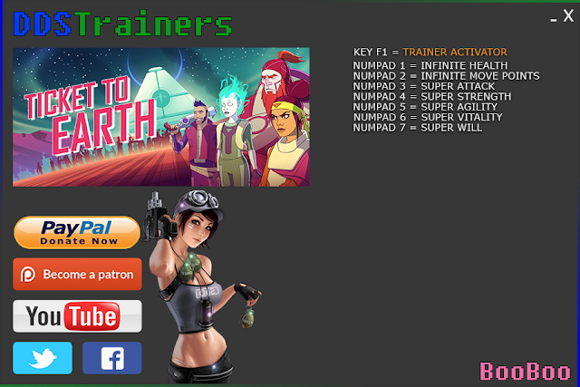 Ticket To Earth Episode 1 Uprising Trainer Cheat for PC