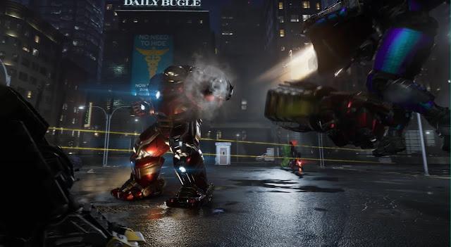 Hulkbuster Marvel's Avengers Second War Table