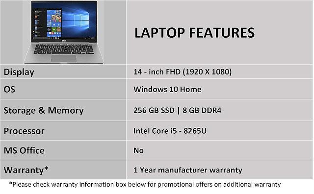 LG Gram 14Z990 2019 14.0-inch Laptop