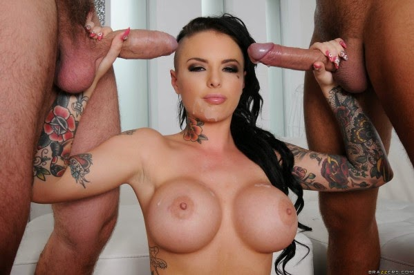 Christy Mack Cumshots Collection