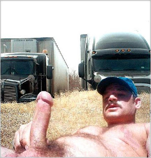 Camioneros gays con ganas de pollas