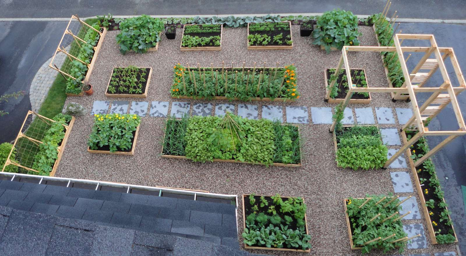 Le Potager Urbain Potager En Photos Et Videos