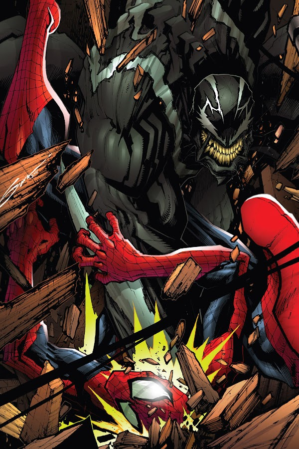 spiderman vs venom comic