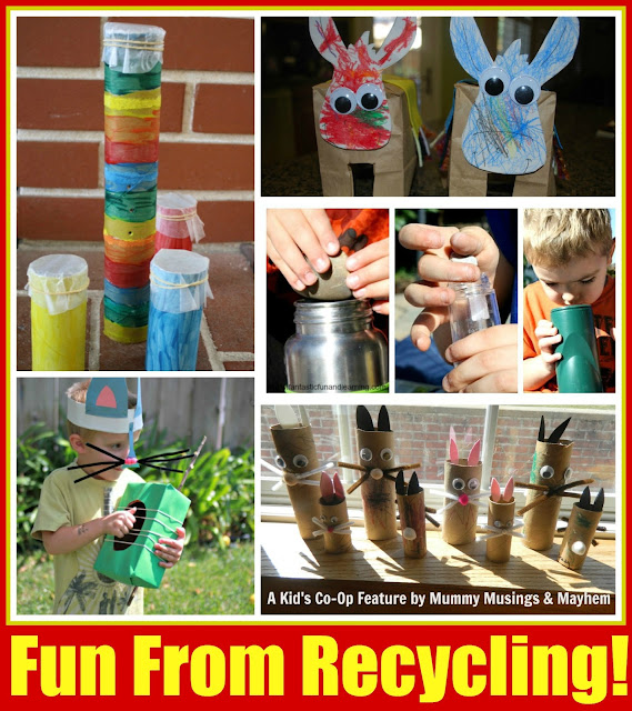 recycling for play and fun