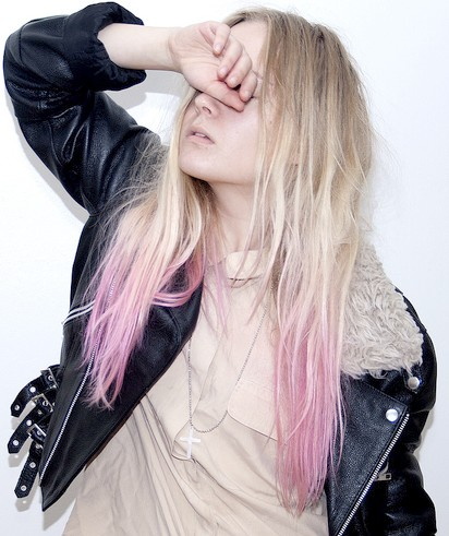 hair color corner pink