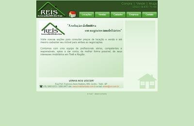 Imobiliária Reis - Tietê