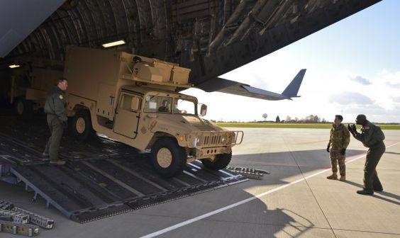 Американські контрбатарейні радари прибули в Україну Ukrainian Military Pages