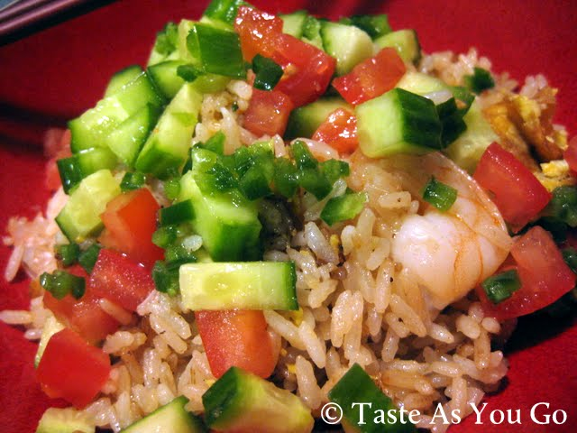 Shrimp Fried Rice with Fiery Lime Sauce | Taste As You Go