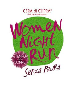 women night run senza paura