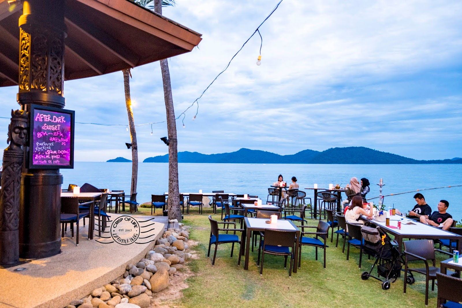 Best Sunset View at Kota Kinabalu @ Sunset Bar, Shangri-La's Tanjung Aru Resort & Spa, Kota Kinabalu, Sabah