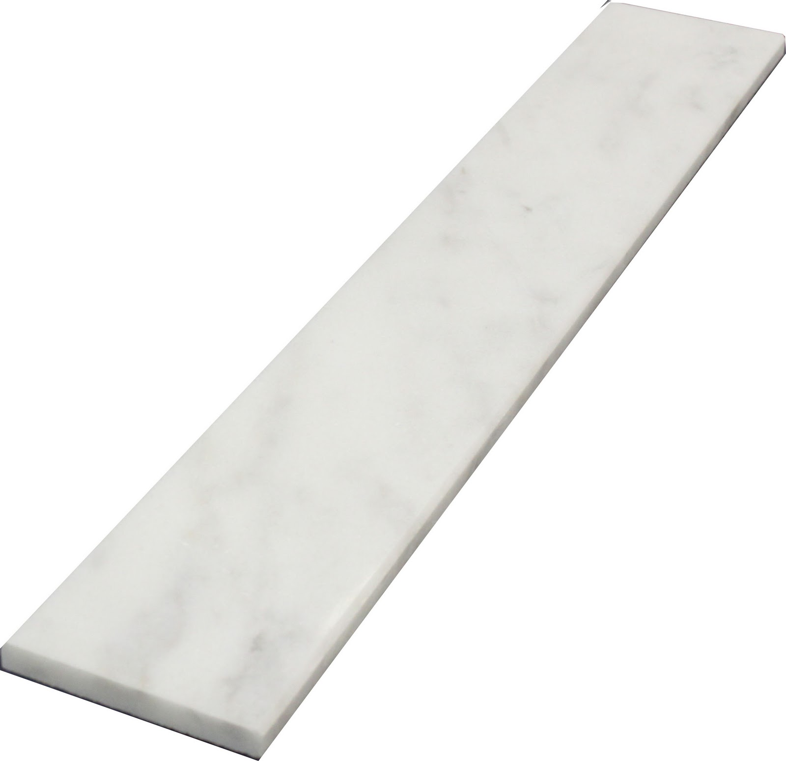 Carrara Threshold: Marble Thresholds: Carrara Marble Thresholds