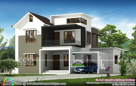 ₹35 Lakhs full finish house design 2200 sq-ft