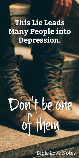 Overcoming the lies of Satan that lead to depression John 14:27