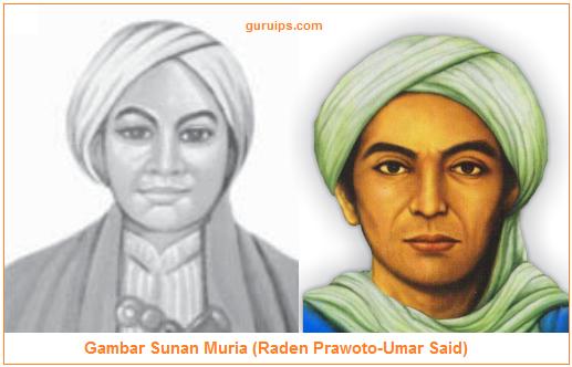 Gambar Sunan Muria (Raden Prawoto-Umar Said)