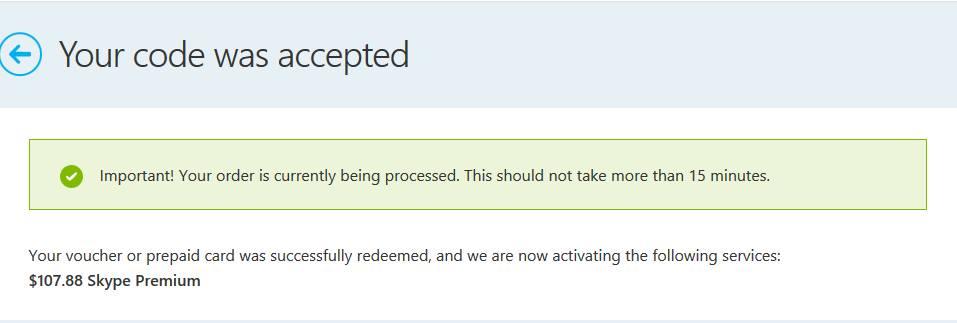 skype free credit code trick