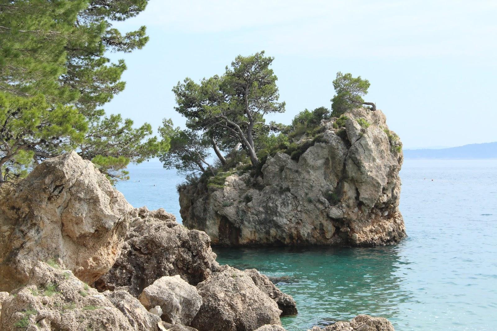 Punta Rata bei Brela, Kroatien