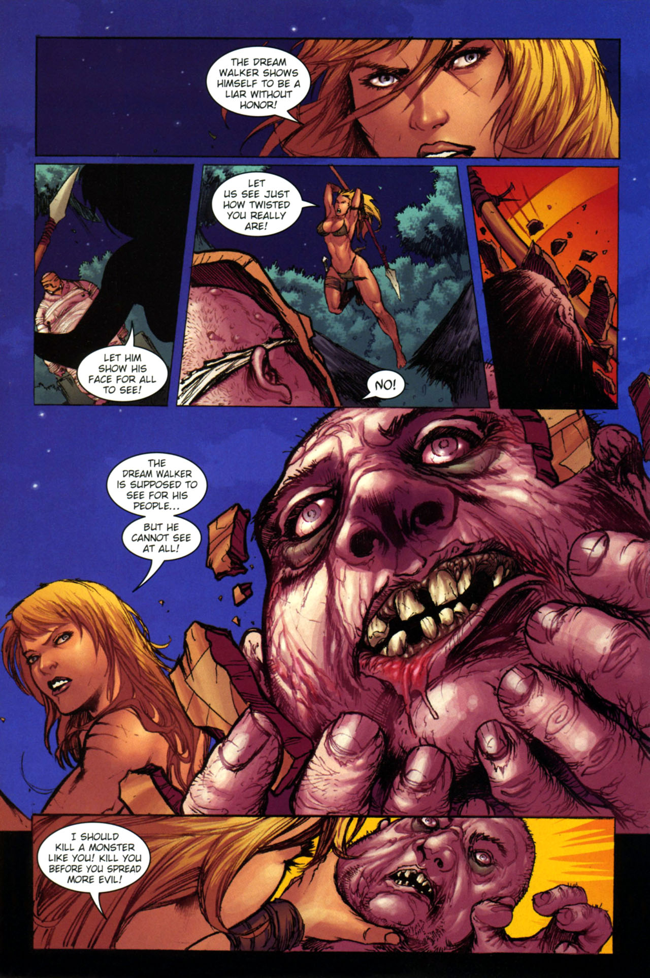 Read online Jungle Girl comic -  Issue #4 - 11