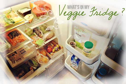 FOOD / What's in my Veggie Fridge ?
