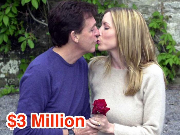 13-Paul McCartney and Heather Mills