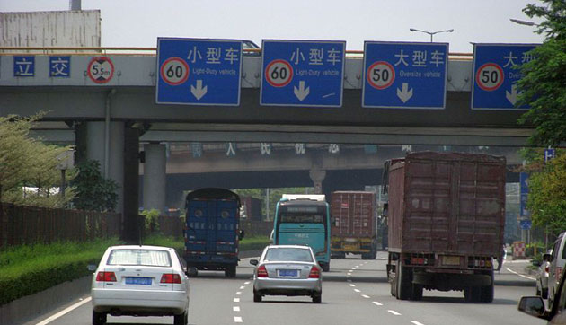 jalan tol China National Highway