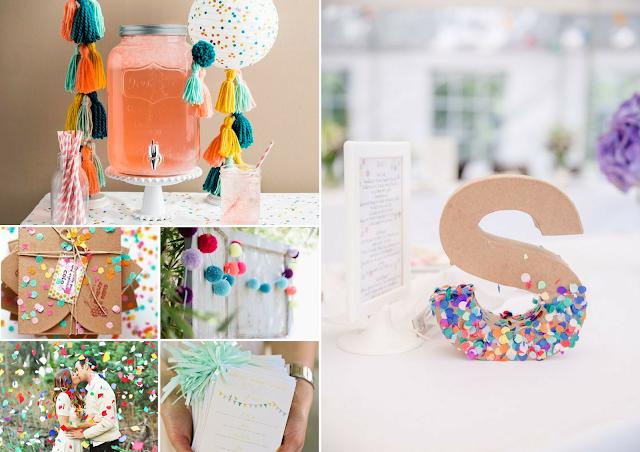 Inspiration décoration mariage thème pompons et cotillons blog mariage un jour mon prince viendra 26