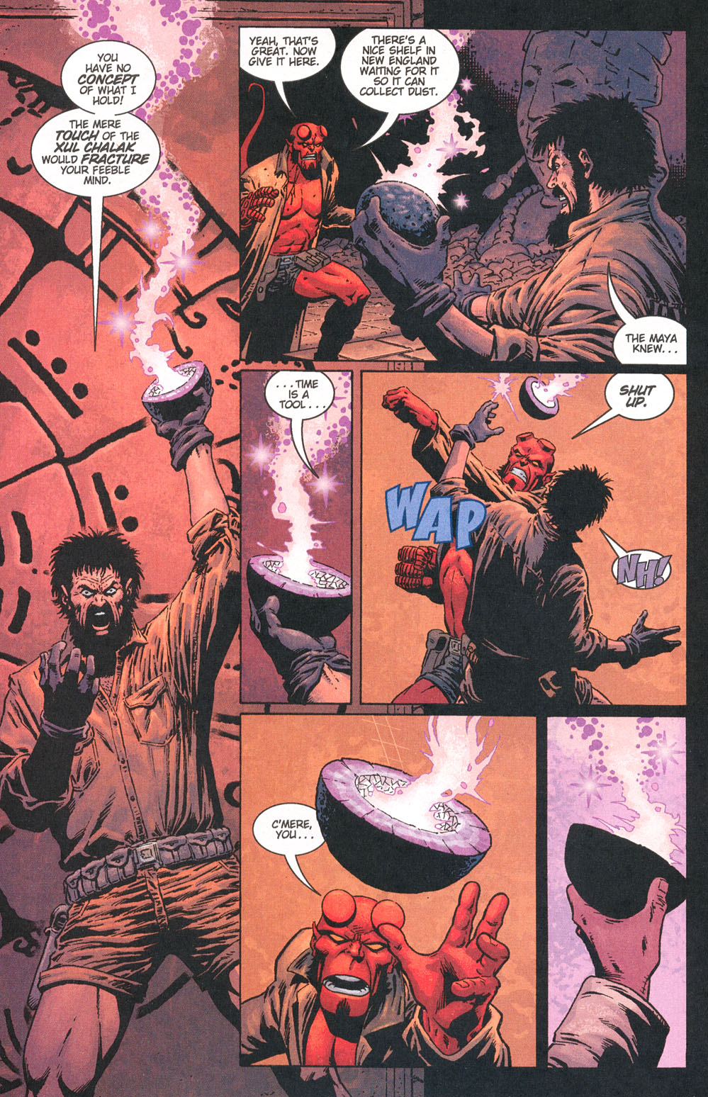 Read online Hellboy: Weird Tales comic -  Issue #5 - 22