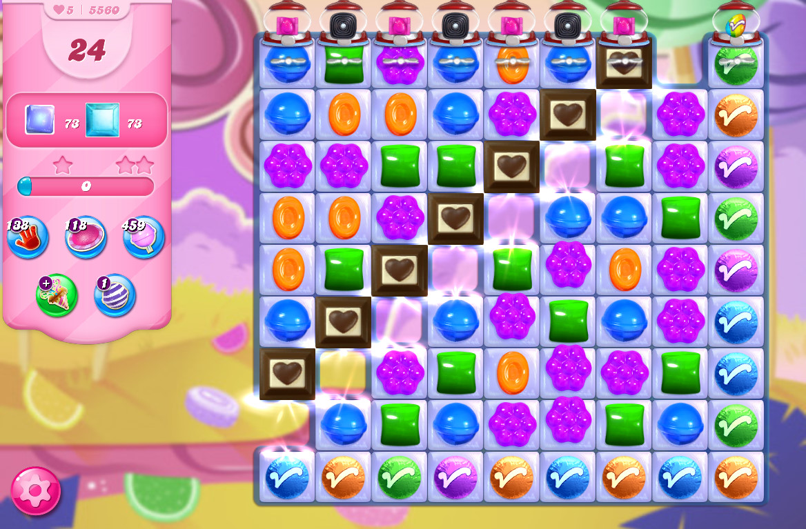 Candy Crush Saga level 5560