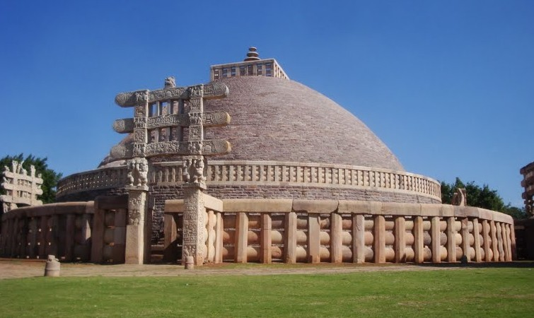 Sanchi Stupa Wallpaper Hd: Bhopal City Bus Routes: Sanchi Stupa