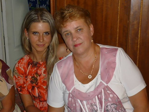 Ekaterina and her mother Galina Baryshnikova