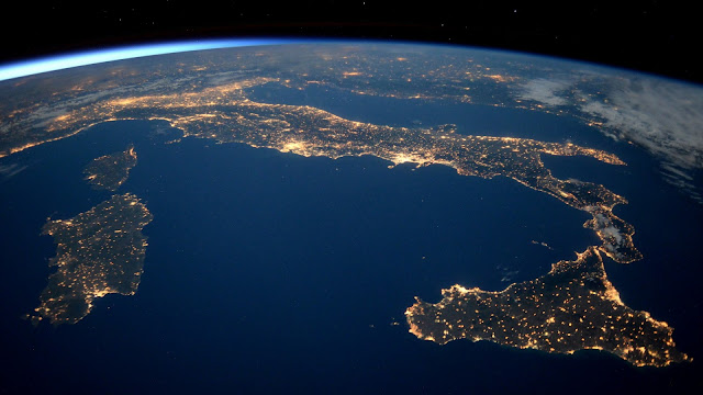 Italia desde el Espacio
