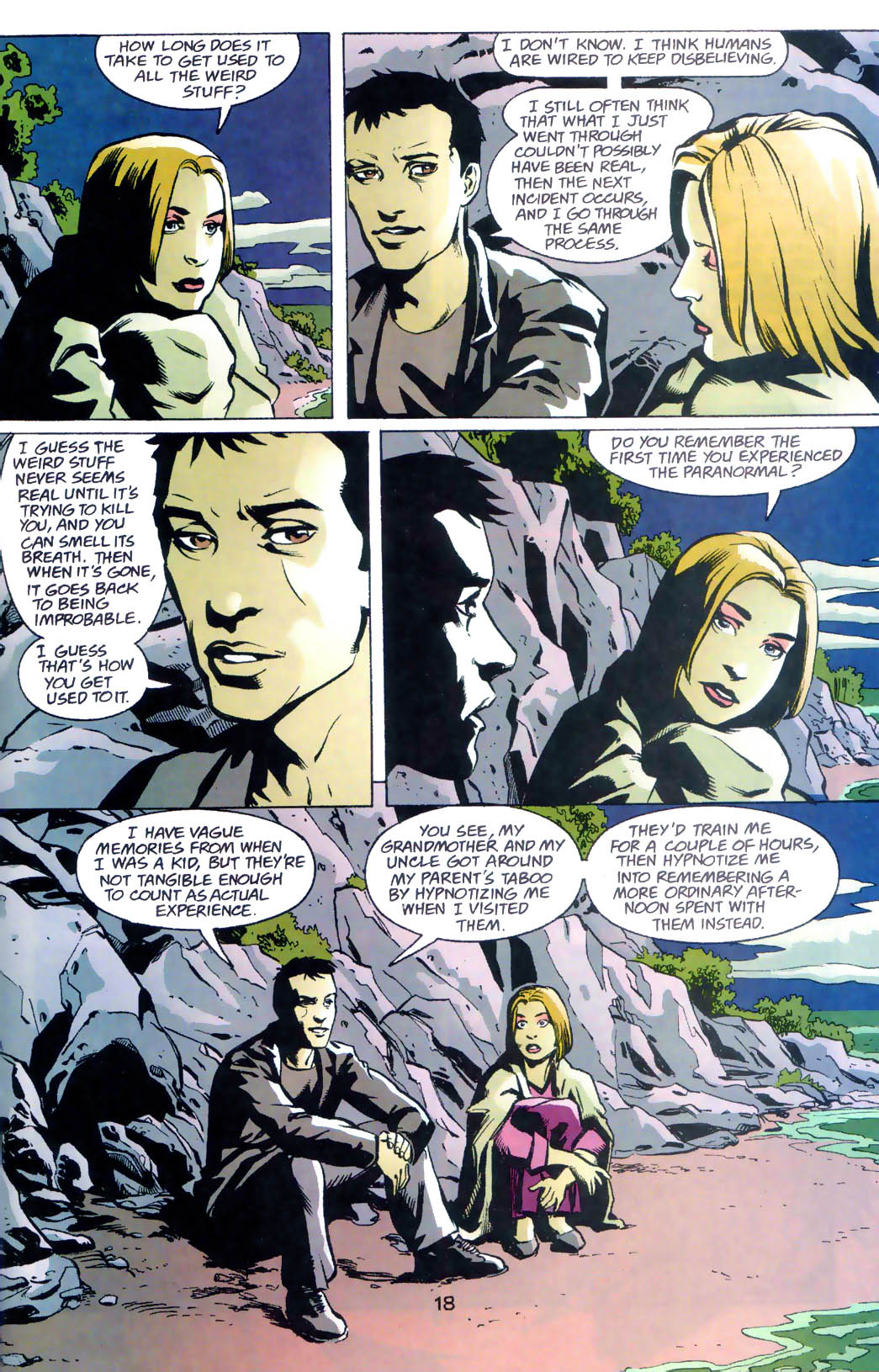 Read online Midnight, Mass comic -  Issue #7 - 19