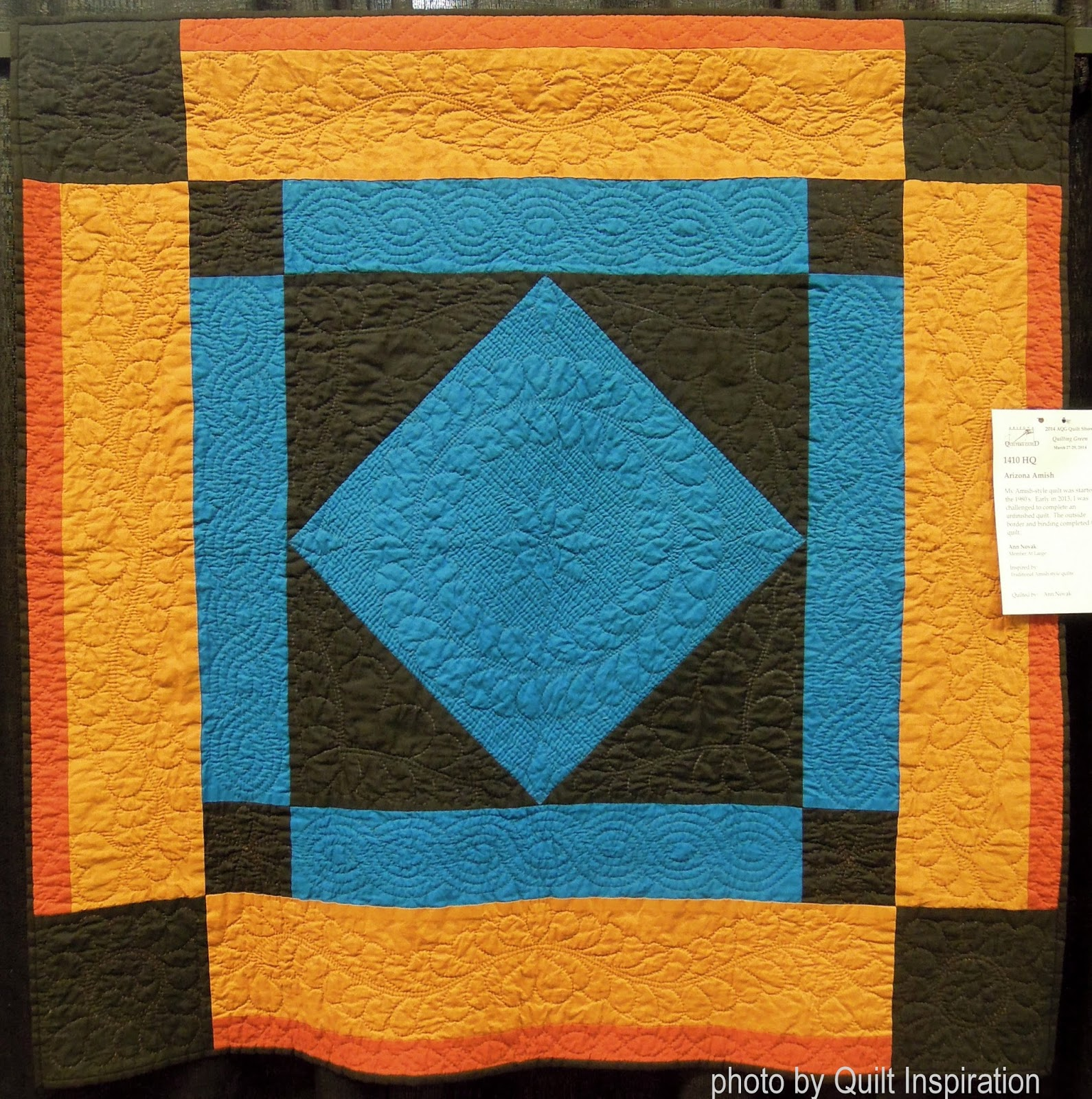Quilt Inspiration: An Homage to Amish Quilts - photo#22