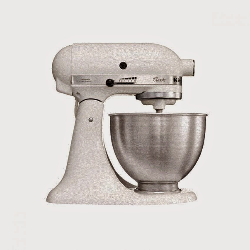 Kitchenaid Stand Mixer K45ss 275w 10 Speed Classic White