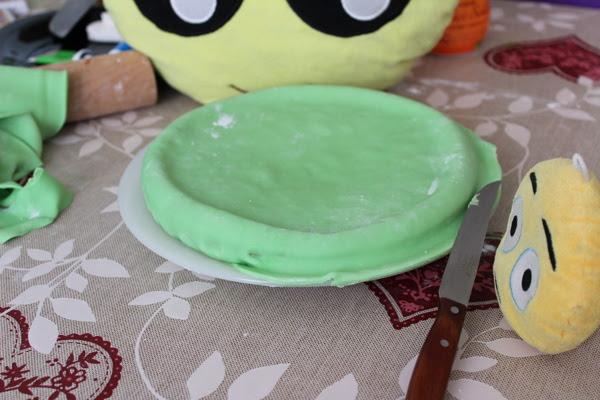 Una receta para hacer un pastel para Halloween