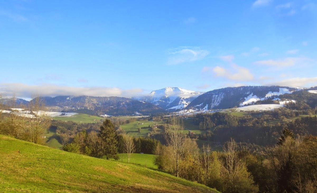Oberstaufen: Allgäu mit Hochgrat