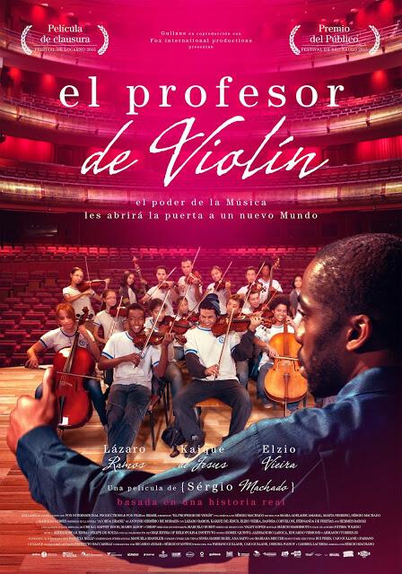Cartel: El profesor de violín (2015)