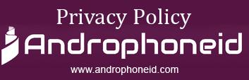 Kebijakan Privasi untuk Androphoneid