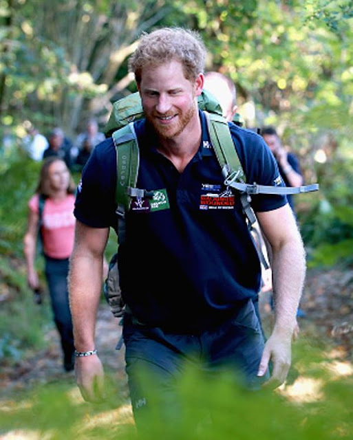 Royal Family Around The World: Prince Harry Joins Walking